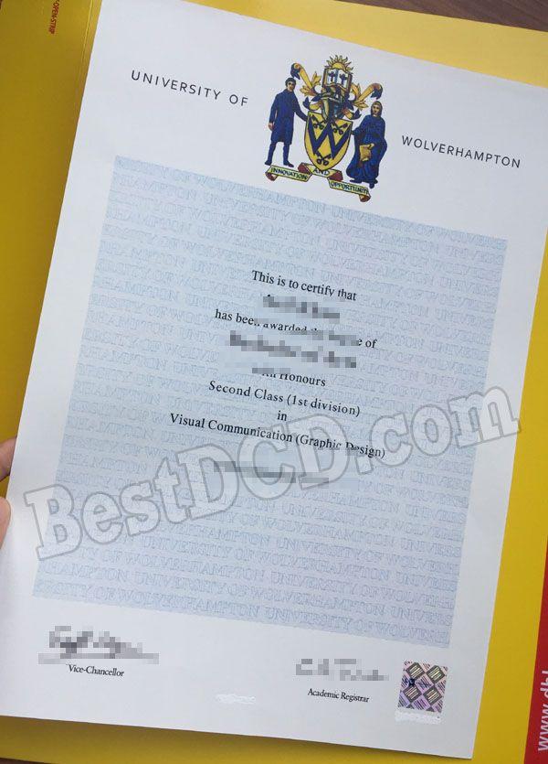 University Of Wolverhampton Fake Degree Fake Certificate The