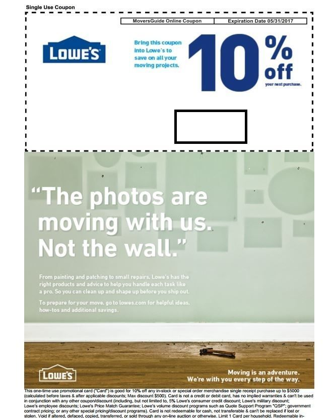 It is a picture of Modest Lowes 50 Off 250 Printable Coupon