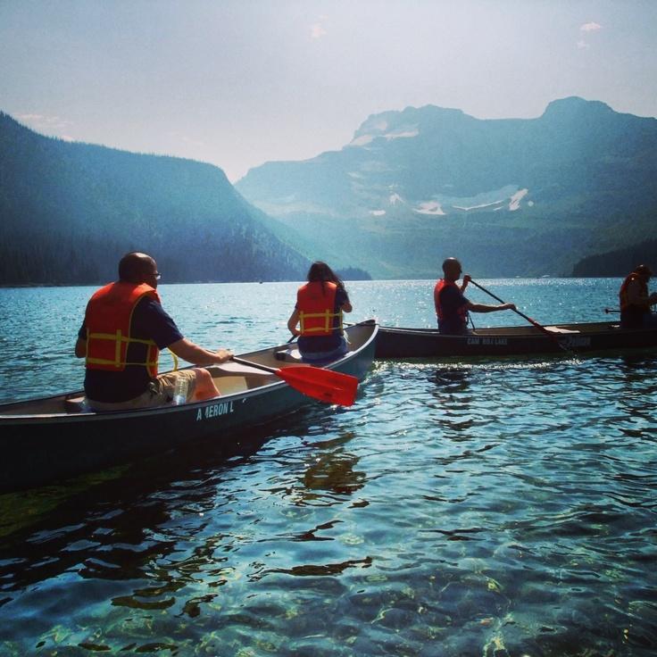 Cameron Lake . Waterton Park . Alberta . Canada