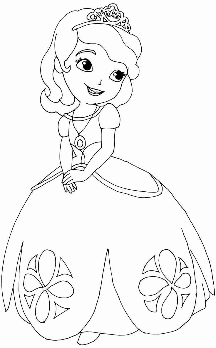 Sophia the First Coloring Book Coloring Book Incredible ...