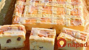 Takúto dobrtou ste ešte nejedli: Krakovský tvarohový koláč  s hrozienkami nemá konkurenciu!
