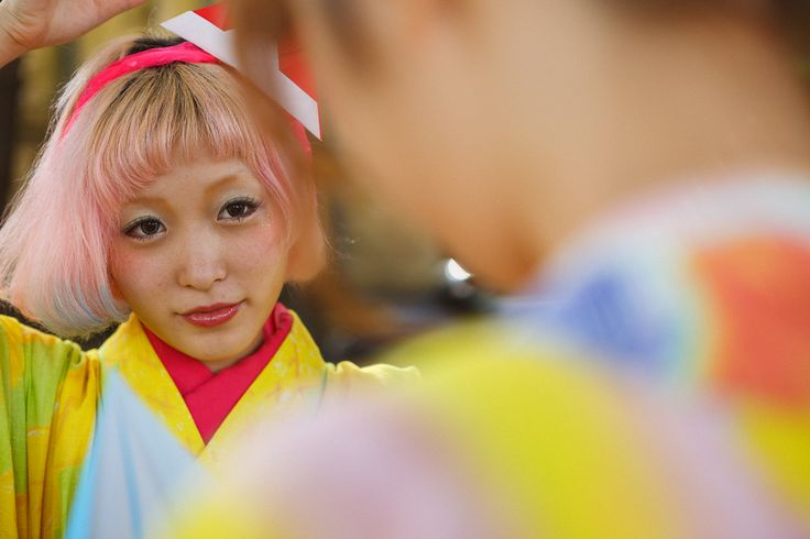 Asagaya kimono -kumamiki-photo