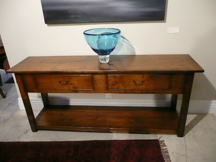 Potboard Hall Table - Cherry Wood