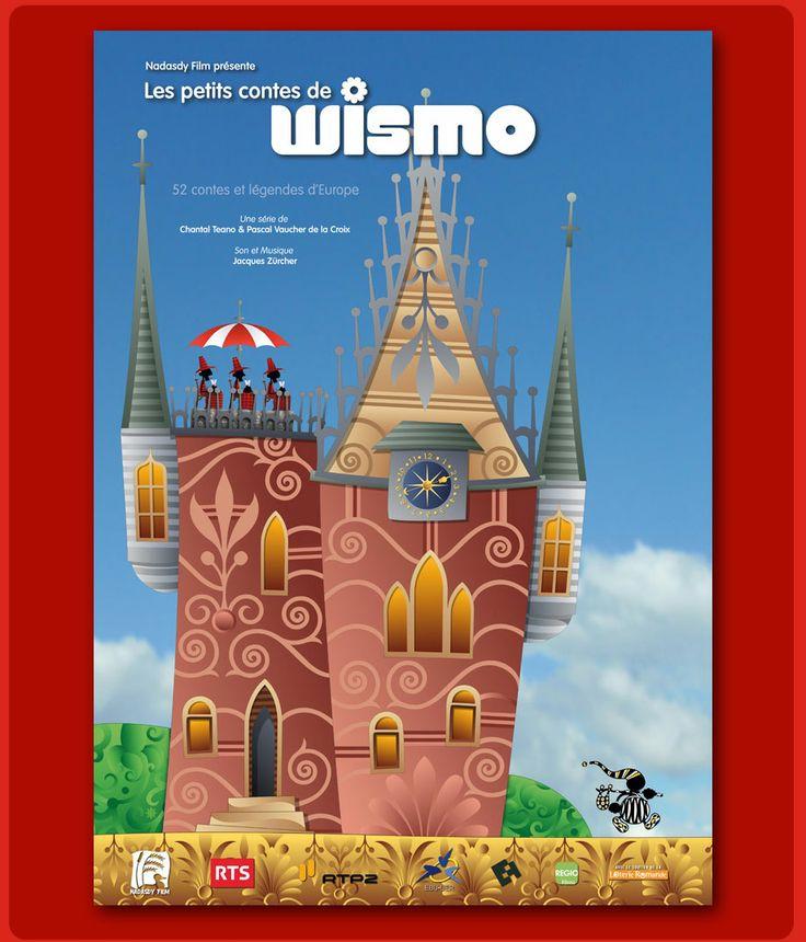 Wismo propose plusieurs contes et légendes interactifs européens, datant d'hier et d'aujourd'hui. Aussi, on y retrouve des dessins animés et jeux.