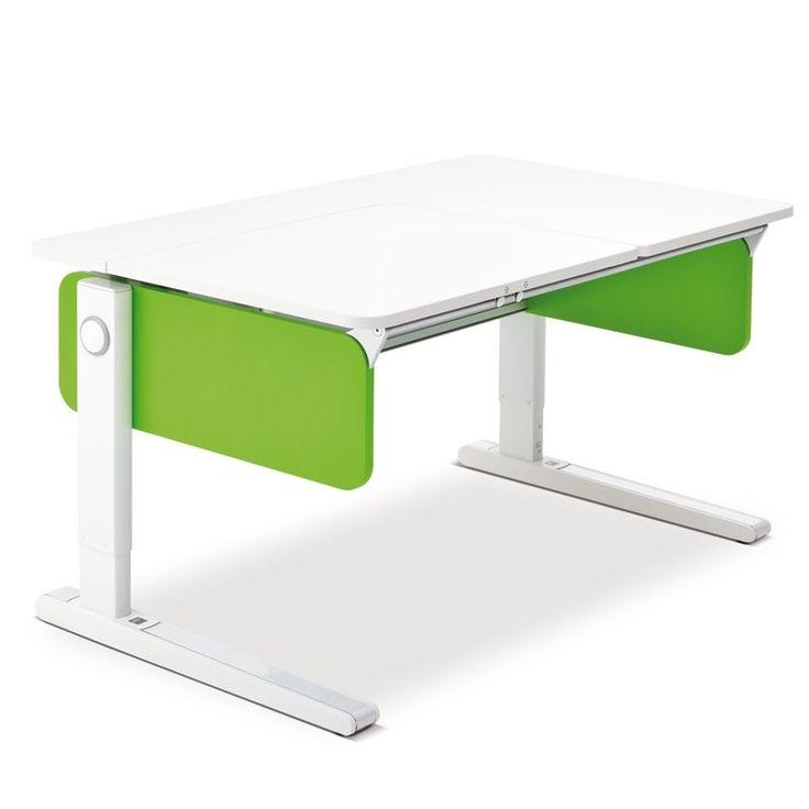 Superb Moll Champion Style Left Up Schreibtisch Jetzt kommt Farbe ins Kinderzimmer Alternativ zu dem Moll Champion Left up mit wei en Seiten k nnen Sie den