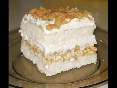 Moje pyszne, łatwe i sprawdzone przepisy :-) : Pyszne ciasto biały lion, z ryżem preparowanym