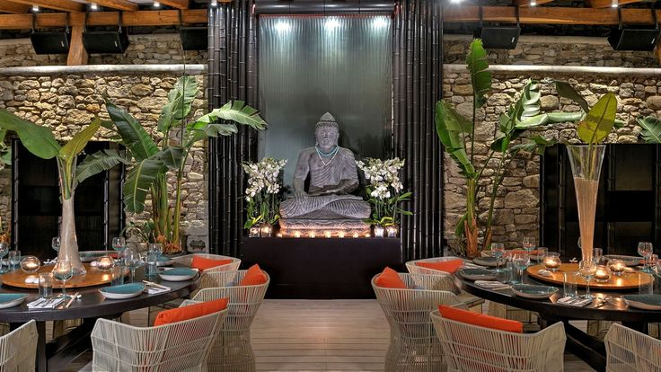 The world's first Buddha-Bar Beach at Santa Marina Resort & Villas. #dining #new #luxury #restaurants