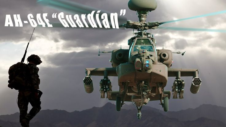 """Why America's Enemies Fear the AH-64E """"Guardian"""" Helicopter?"""