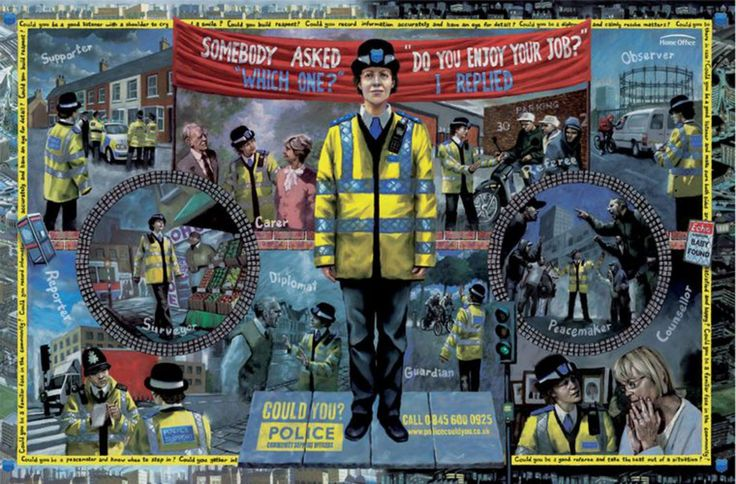 Read more: https://www.luerzersarchive.com/en/magazine/print-detail/police-support-officers-london-37661.html Police Support Officers, London Recruiting campaign for Police Community Support Officers. Tags: M&C Saatchi, London,Paul Pickersgill,Graham Fink,Jamel Akib,Police Support Officers, London,Simon Warden