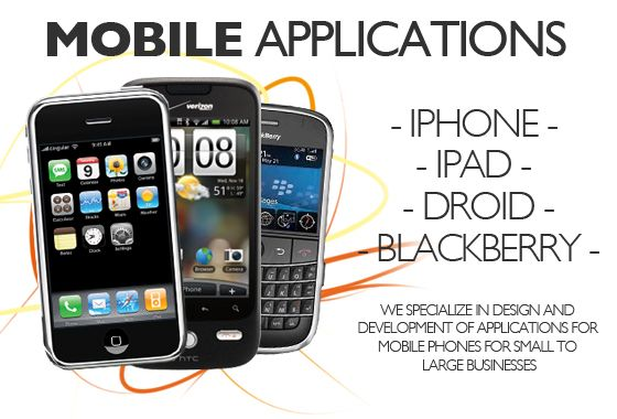 Get mobile apps for your iPhone, iPad, Android and Blackberry Phone
