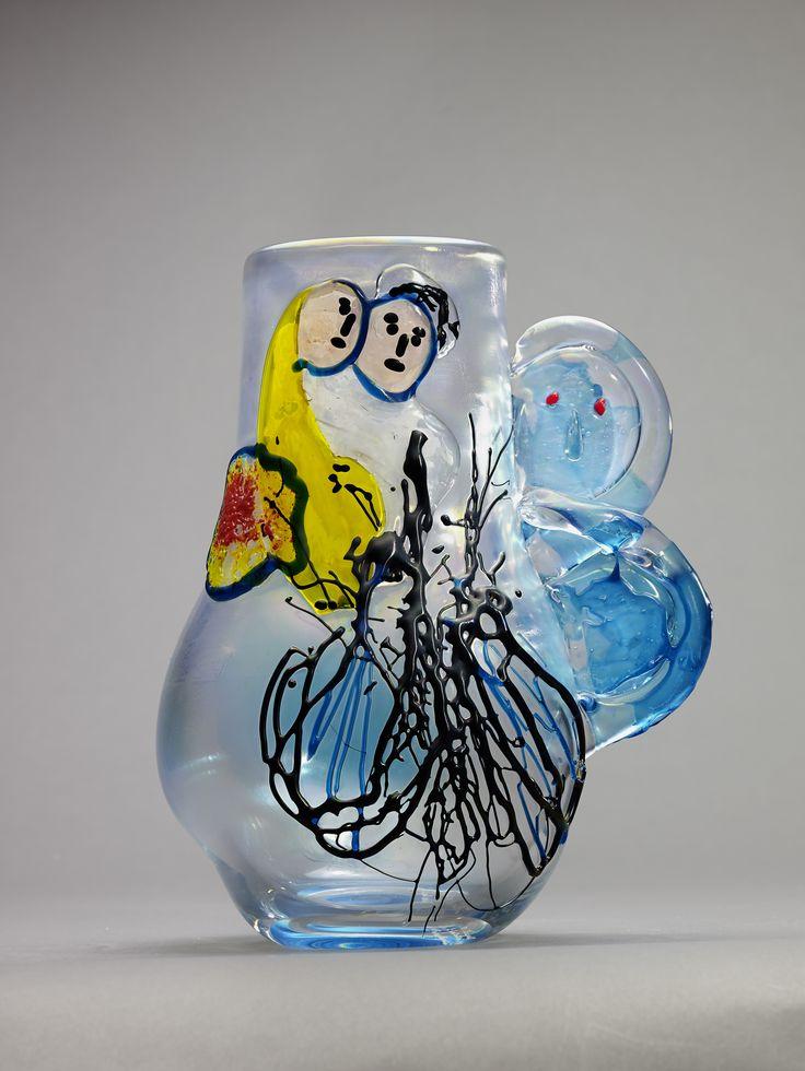 Sposi Anfora Œuvre créée en 1954 par Egidio Costantini avec Marc Chagall (c) Photo : François Fernandez