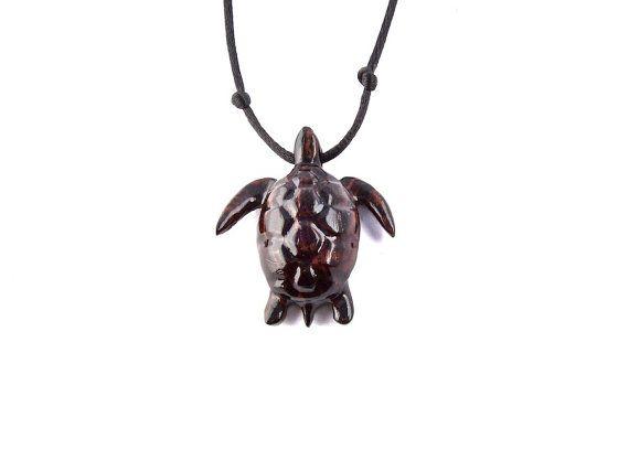 Sea Turtle Pendant Sea Turtle Necklace Men's by GatewayAlpha