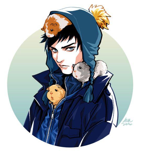 Craig - South Park fanart - Audrey Mok