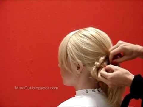 ▶ Cute Messy Bun for Long Hair - YouTube