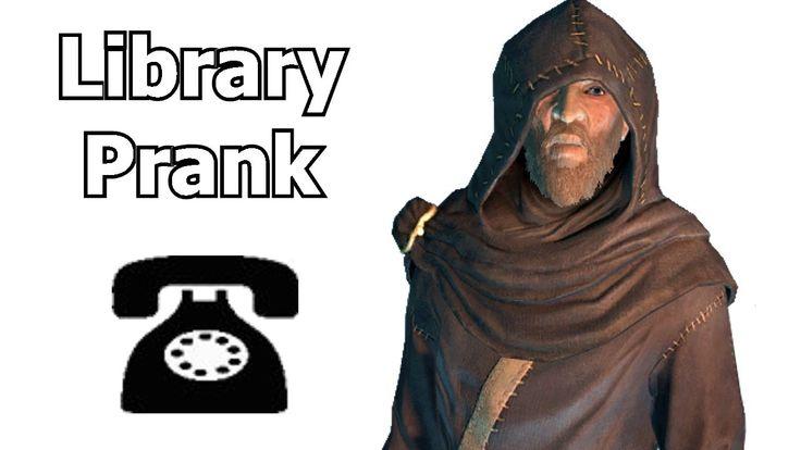 Skyrim Character Septimus Signus Prank Calls Libraries Asking For the Actual Elder Scrolls