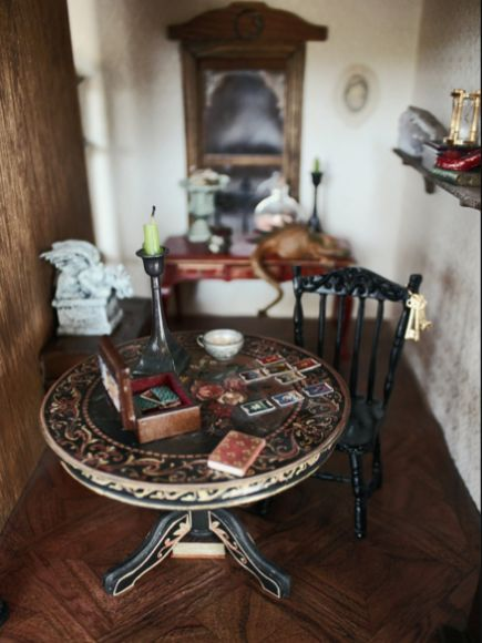 Dollhouse - Curated by Jenny Lawson  ...not just ANY dollhouse.  A HAUNTED dollhouse!!: Tarot Cards, Haunted House, Haunted Dollhouses, Dolls House, Tarot Reading, Doll Houses, Dollhouse Miniatures, Haunted Dolls, Dollhouses Miniatures