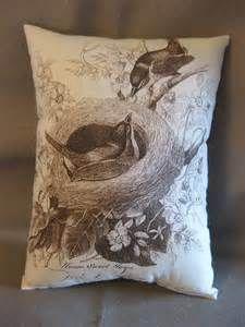 Bird nest pillow