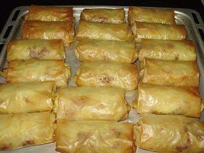 Παστίτσιο τυλιχτό!!! Never thought of it... from Greek food blogs