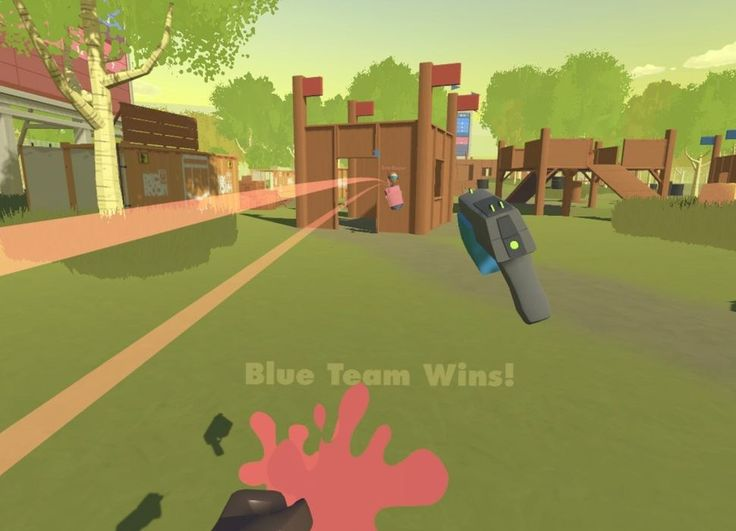 VR finally has its killer app and its called Rec Room - CNET Close Were hooked on playing virtual-reality paintball in Rec Room Drag Since the release of the HTC Vive and Oculus Rift Ive tested dozens of VR apps and games from big-budget adventures to free indie apps made by lone programmers. I can safely say that the single best experience Ive had in virtual reality to date is a free Steam app for the HTC Vive called Rec Room and specifically the multiplayer paintba...
