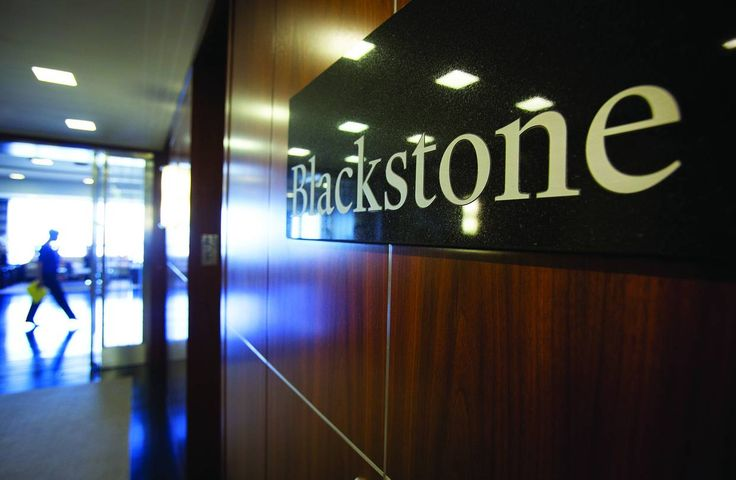 Blackstone Group offices in New York. Blackstone is one of many creators of complex securities that is grappling with a rule that will force them to retain more of the securities.