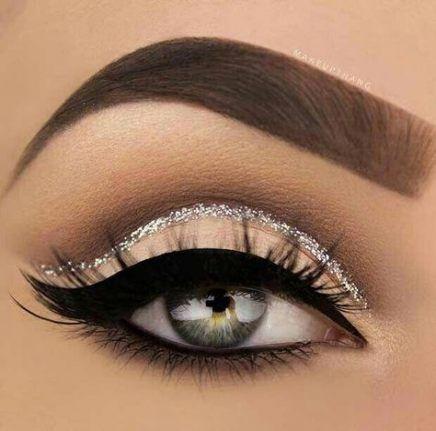 New wedding makeup silver cut crease Ideas
