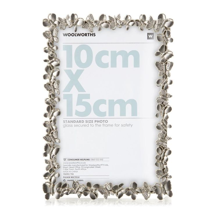 Butterfly Photo Frame for mom! #woolworths #mothersday #win