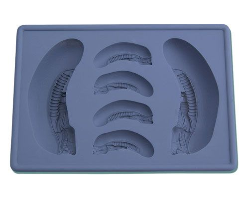Alien — Alien Big Chap Silicone Ice Tray, Чужой — Чужой-здоровяк, форма для льда