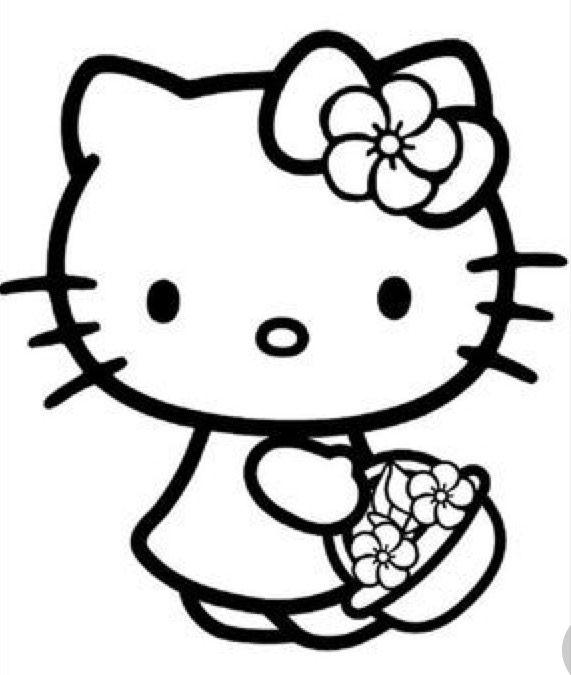 Pin Ot Polzovatelya Jillane Manville Na Doske Hello Kitty Hello Kitty Kartinki Hello Kitty Den Rozhdeniya Knizhka Raskraska