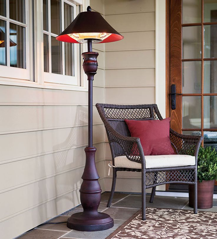 Northgate Floor Heater turns any outdoor space into a 4-season haven. Great for chilly nights any time of year.