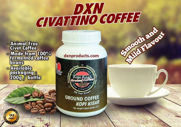 DXN Civattino Coffee specialty without animal ingredients of course! Coming soon to webshops: http://dxnproducts.com/product-category/food-and-beverages/