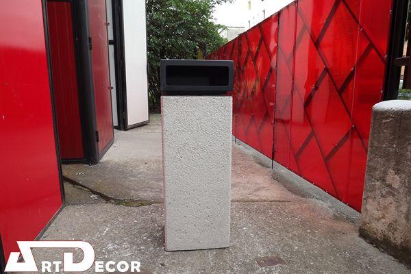 Cosuri de gunoi din beton