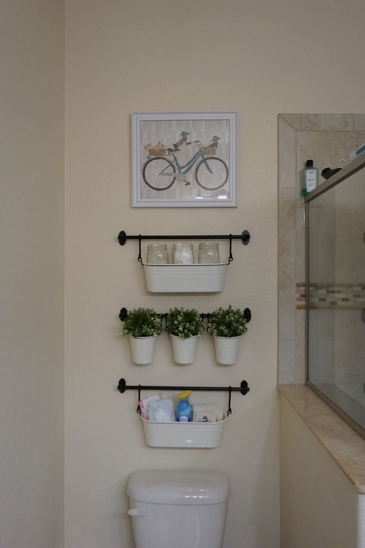Ikea Fintorp Bathroom Organization/ Decoration.