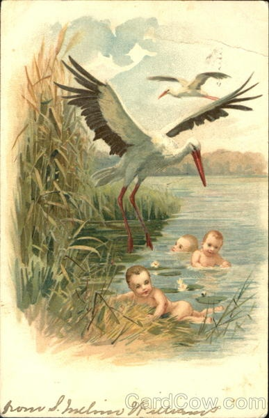 Storks, Babies
