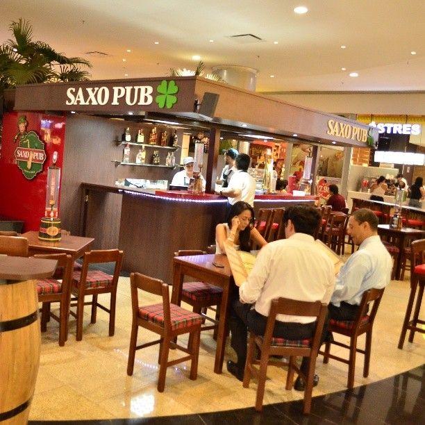 Saxo Pub ahora en el Centro Comercial Cacique! Recomendadisima la Salchicha Alemana junto a una Buena Cerveza!