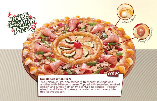 Pizza Hut Singapore may have gone too far this time...