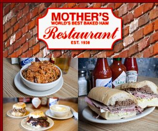 Mother's Restaurant in New Orleans! If you go to New Orleans, a visit to Mother' is a MUST!!! Check out their website or Facebook page for more info and great recipes!