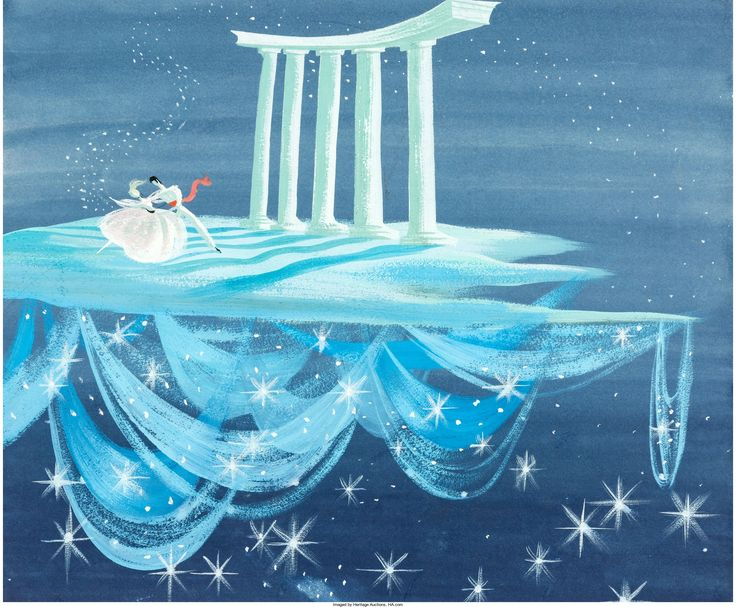 Mary Blair Cinderella Concept Painting (Walt Disney, 1950).... | Lot #95040 | Heritage Auctions