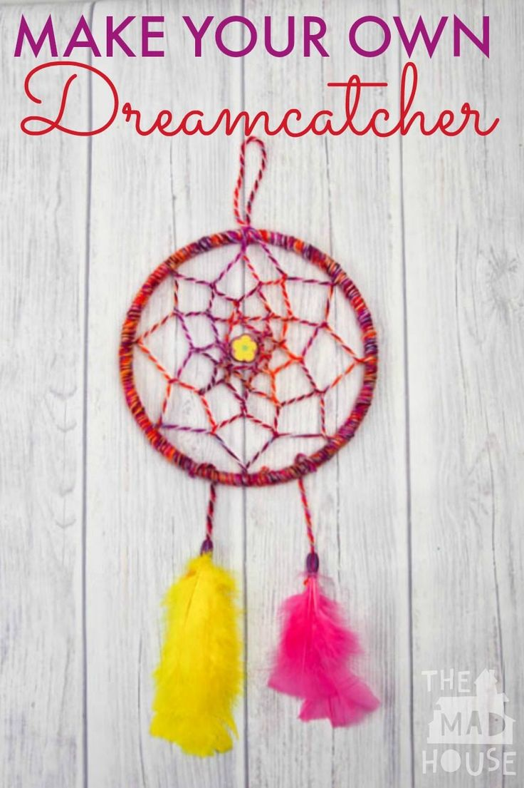DIY Dreamcatcher Tutorial Dream catcher tutorial, Arts