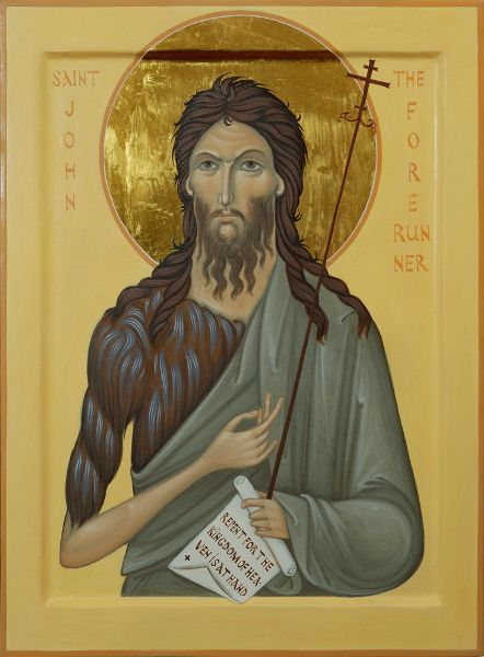 Commission Icon of Saint John The Forerunner