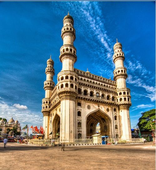 The Charminar Built In 1591 Ce Is A Monument And Mosque Located In Hyderabad Telangana India