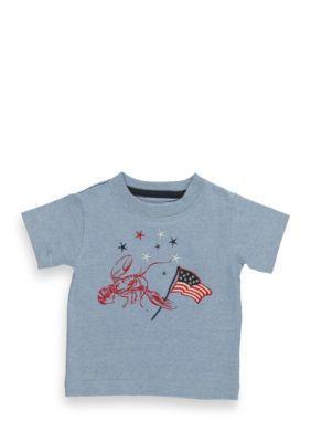 Kitestrings  Short Sleeve Lobster Americana Tee