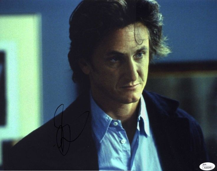 "SEAN PENN Hand Signed 14x11"" Photograph - JSA COA - UACC RD#289 in Collectibles, Autographs, Movies 