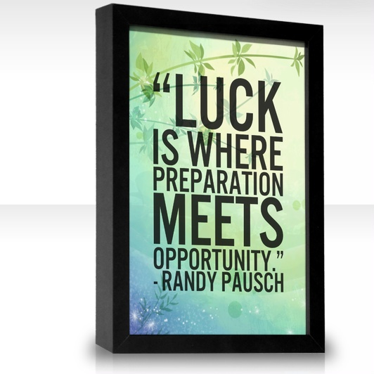 Quote Success Is When Preparation Meets Opportunity: 1000+ Images About Randy P Quotes On Pinterest