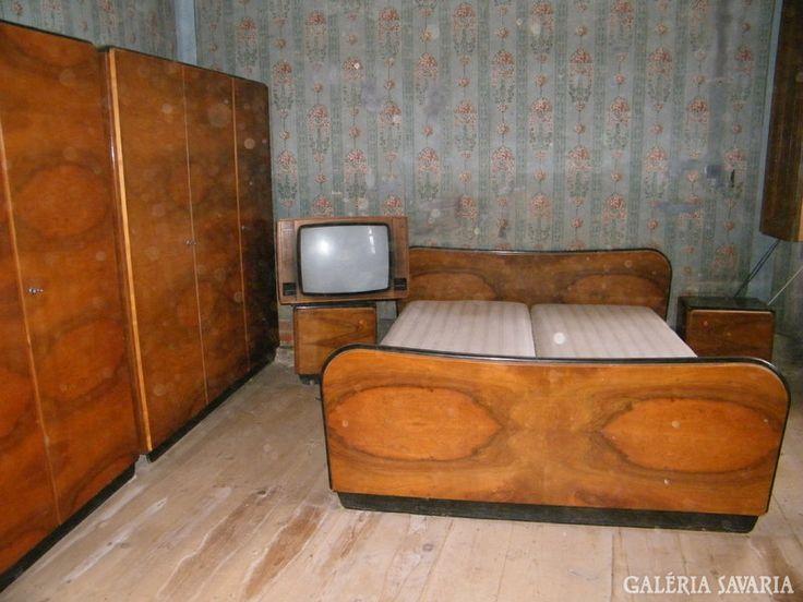 Art Deco hálószoba bútor Leáraztam !