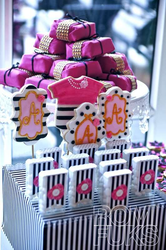 Amazing Favors At A Kate Spade Baby Naming Party! See More Party Planning  Ideas At