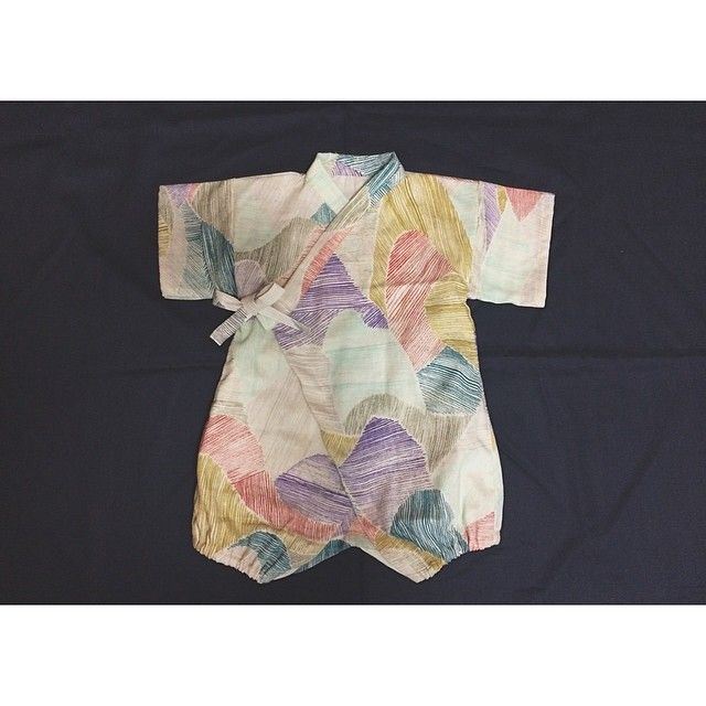beautiful printed baby kimono. #designer #baby #fashion