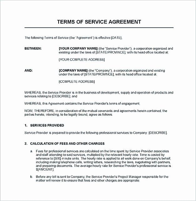 It Service Contract Template In 2020 Contract Template Business