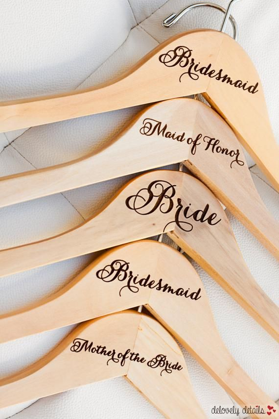Personalized Bridesmaid Hanger Laser Engraved Wood Bride Etsy In 2020 Personalized Bridesmaid Hangers Bridesmaid Hangers Personalized Bride