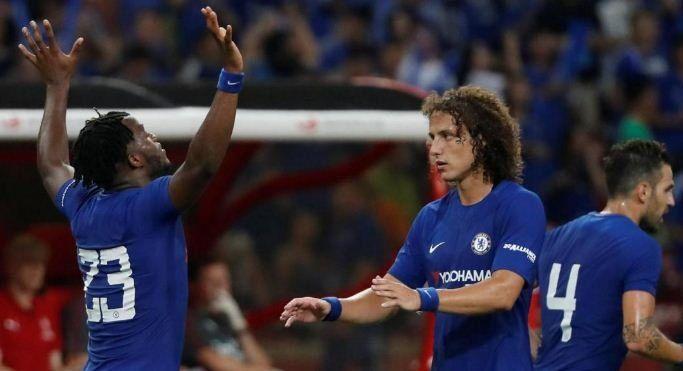 Michy Batshuayi Scored Twice As Chelsea Thrash Arsenal 3-0 In Pre-Season Friendly [Watch The Goals Highlight]