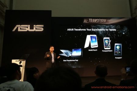 The new Asus generation hands-on: mid-class tablets, high-end events